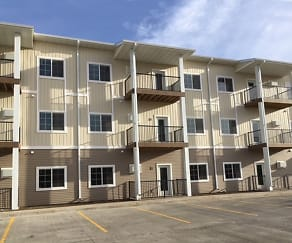 Building, LSS Apartments Watford City