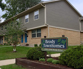 Community Signage, Brody Townhomes
