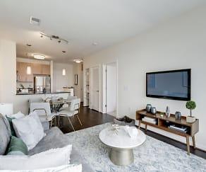 Living Room, Flats at Atlas