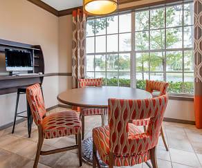 Dining Room, The Cove at Boynton Beach Apartments