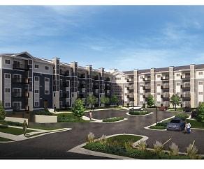 Rendering, Eastgate Apartments