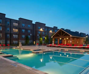 Pool, Trifecta Apartments