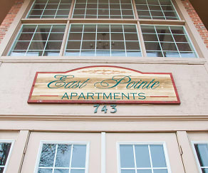 Community Signage, East Pointe Apartments
