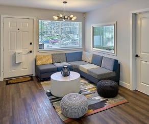 Living Room, University Heights Student Living