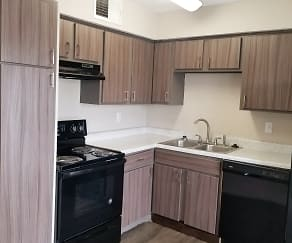 Kitchen, Monterra Pointe Apartment Homes