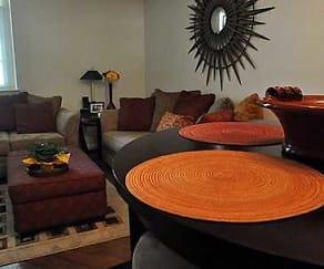 Living Room, Riverloft Apartments