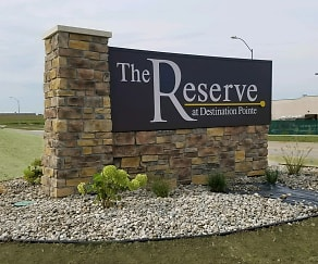 Community Signage, The Reserve at Destination Pointe