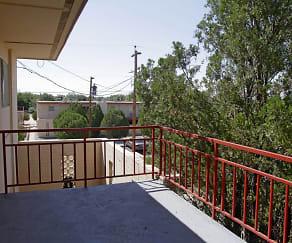 Patio / Deck, Colony Garden Apartments