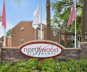 Community Signage, Northwood Apartments