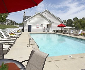 Pool, Woodland Lakes Apartments