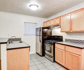 Kitchen, Penthouse Apartments