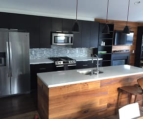 Kitchen, 1654 Electric Ave