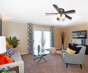 Living Room, The Flats at Hurstbourne