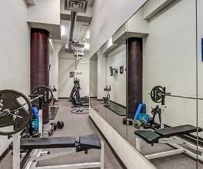 Fitness Weight Room, Kunzelmann-Esser Lofts