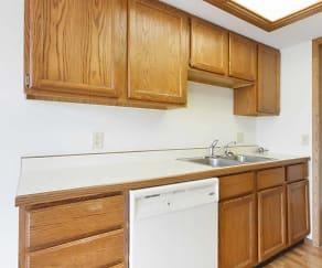 Kitchen, The Concorde Apartments