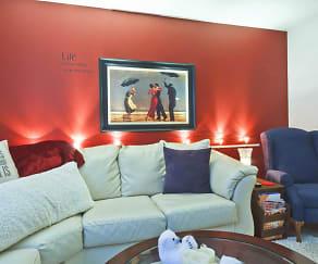 Living Room, Terrace Hills Apartments