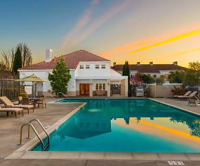 Pool, Capri Creek Apartments