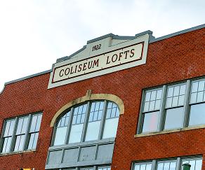 Community Signage, Coliseum Lofts
