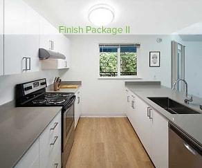 Kitchen, eaves Redmond Campus