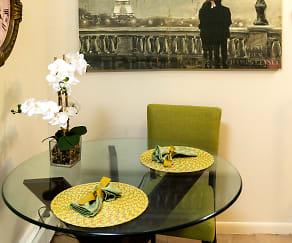 Dining Room, Brandywine Hills Apartments