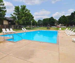 Pool, The Meadows Apartments