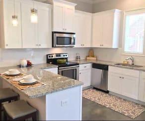 Kitchen, The Cottage at E. Broussard