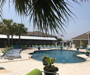 Pool Area, Canebrake Apartments