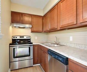 Kitchen, Avalon Apartments