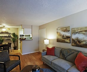 Living Room, Avery Park Apartment Homes