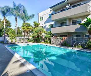 Pool, Courtyard Apartments