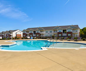 Pool, Assembly Apartments