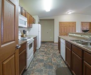 Kitchen, Stanley ND Apartments