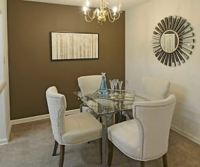 Dining Room, Rutland Place Apartment Homes