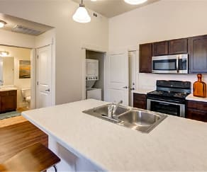 Kitchen, West Station Apartments