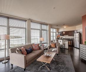 Living Room, Watermark Lofts