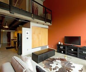 Living Room, Gateway Lofts