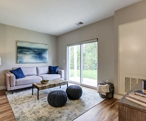 Living Room, The Residences at Chagrin Riverwalk East