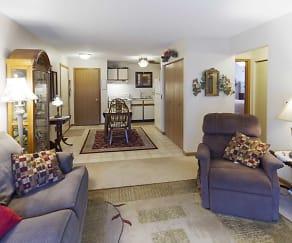 Living Room, Mallard Lake Apartments
