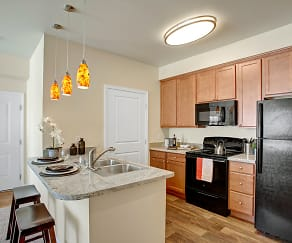 Kitchen, Solara Apartments