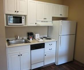 Kitchen, Furnished Studio - Boston - Woburn