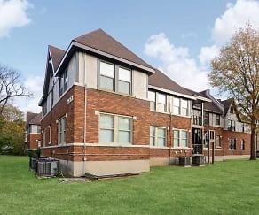 Building, Overton Gardens