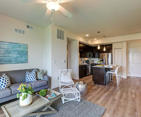 Living Room, Milano Lakes Apartments