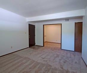 Bedroom, Stadium View Apartments