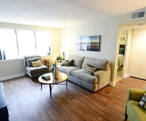 Living Room, Trilogy Apartments