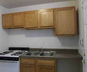 Kitchen, Westbrook Apartments
