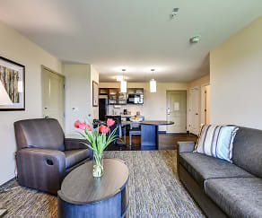 Living Room, Candlewood Suites Bensalem-Philadelphia Area