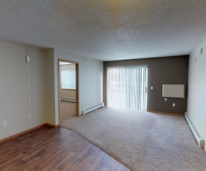 These Vast Open Floor Plans include Dining Rooms leading into the Living Room & Balcony or Patio Access, Grand Gateway Apartments