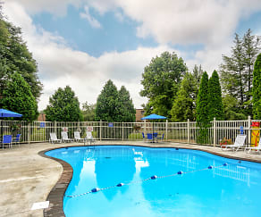 Pool, Aspen Pines Apartments
