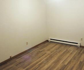 Bedroom, Wickham Apartments
