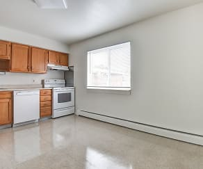 Kitchen, Sleeping Giant Apartments